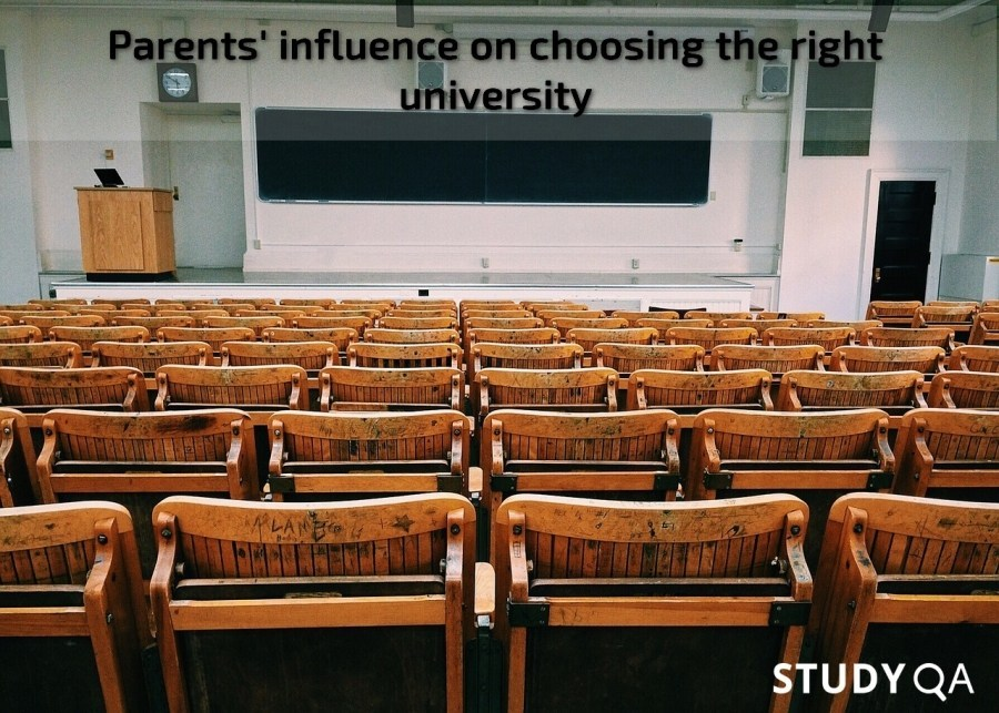 StudyQA: Parents' influence on choosing the right university